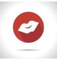 Kiss icon Eps10 vector image