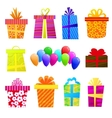 gift set vector image vector image
