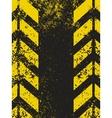 worn hazard stripes texture vector image
