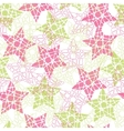Abstract mosaic star texture vector image