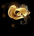 jeweler goldfish vector image