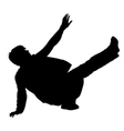 breakdance vector image
