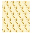 Wheat ears pattern design vector image