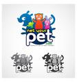 Online Pet Symbol vector image