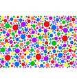 colored specks vector image