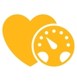 Blood Pressure Meter Icon vector image