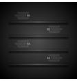 Dark shelves infographics design vector image