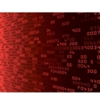 Red security background with HEX-code vector image