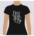 New York City t-shirt design vector image