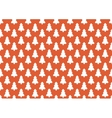 Pattern for wrapping paper White Christmas tree vector image