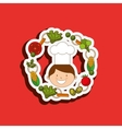 kids cooking design vector image