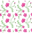 Abstract elegant seamless pattern with floral vector image