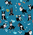 doggies vector image