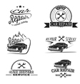 Car service and Repairing icon set vector image
