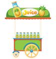 Food vendor vector image vector image