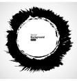 grunge circle frames set vector image