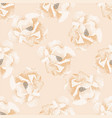 seamless background with watercolor roses vector image