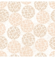 Abstract mosaic balls texture vector image vector image