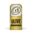 Olive OiL design Orgnic concept white background vector image