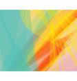 background banner transparent wave lines vector image