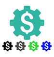 Financial options flat icon vector image
