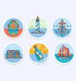 nautical sailing marine and more vector image