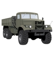 army truck vector image vector image