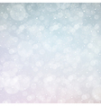 new year snowing bokeh background vector image vector image
