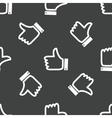 Like symbol pattern vector image