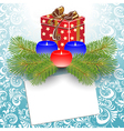 gift box christmas vector image