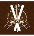 Ski Resort Logo vector image