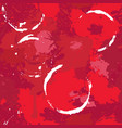 abstract seamless pattern with red wine stains vector image vector image