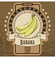 fruit label vector image vector image