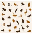 Animal seamless pattern 2 vector image