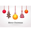 Christmas on light background vector image