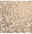 Elegant stylish abstract floral wallpaper vector image