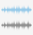 sound waves Music Digital Equalizer vector image