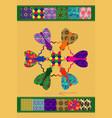 flies of creativity vector image
