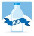 fresh milk design vector image