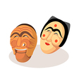 icon mask vector image vector image