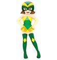 A cute superhero vector image