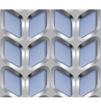 Abstract Metal Lattice Seamless Pattern vector image
