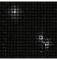 Black mosaic background vector image vector image