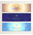 Banner Abstract background vector image