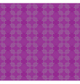 Purple flourish pattern vector image