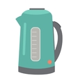 Teapot or Electric Kettle Isolated on White vector image