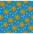 Celestial bohemian pattern vector image