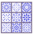 set pattern vector image