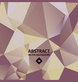 abstract triangle background luxury golden vector image