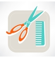 Hairdresser icon vector image